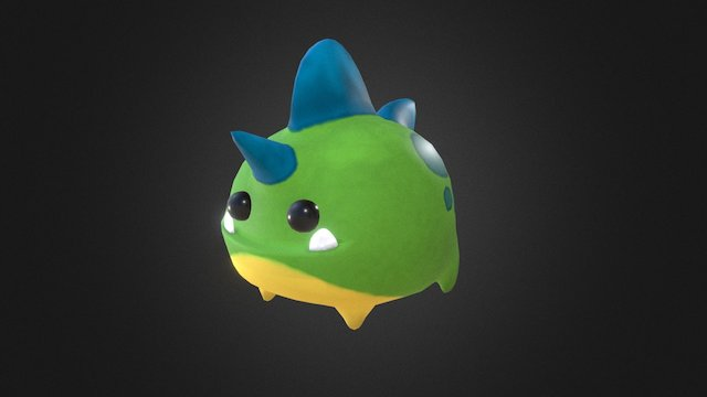 Character from Pico Pets:Monster Battle (Final) 3D Model