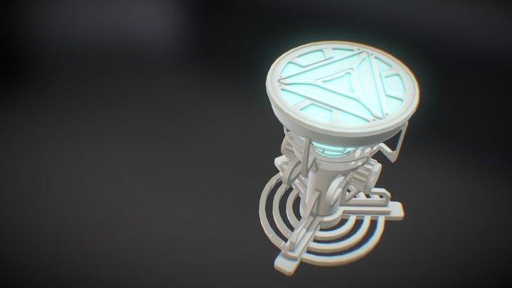 Iron man | MK2 Ark Reactor | WIP... 3D Model