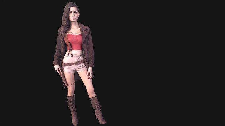 LeeAnna Vamp - Firefly Cosplay 3D Model