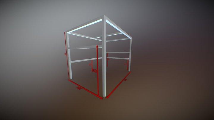 Estructura 3D Model