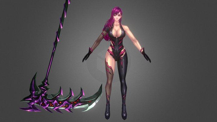 Kritika Reaper Tpose 3D Model