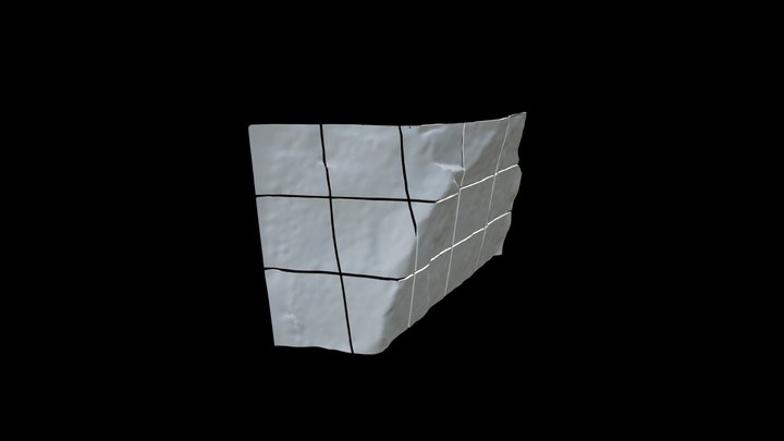 Skyview Boulder Sliced 3D Model