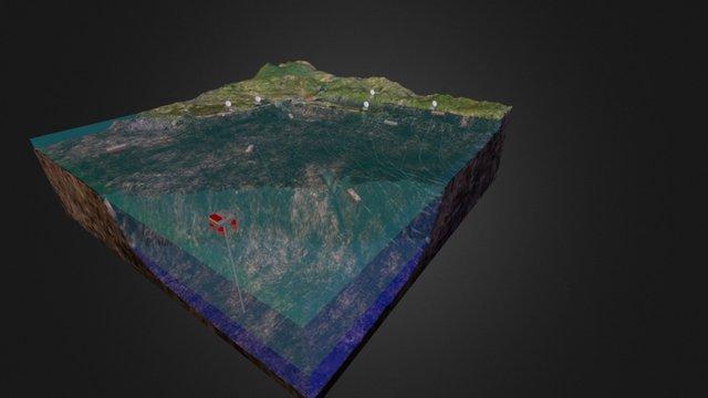 Multi-Purpose Marine Landscape Example 3D Model