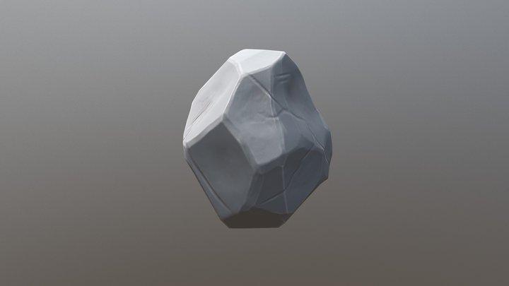 Stylized Rock2 3D Model