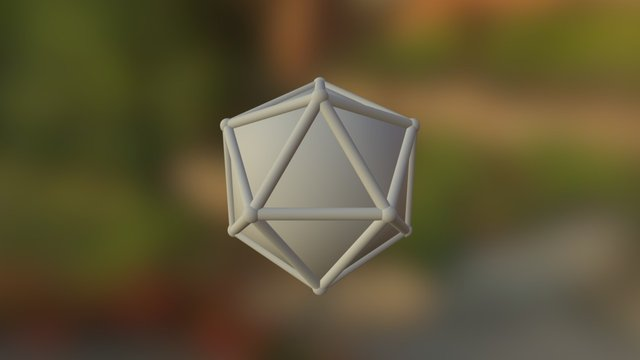 Icosaedro 3D Model