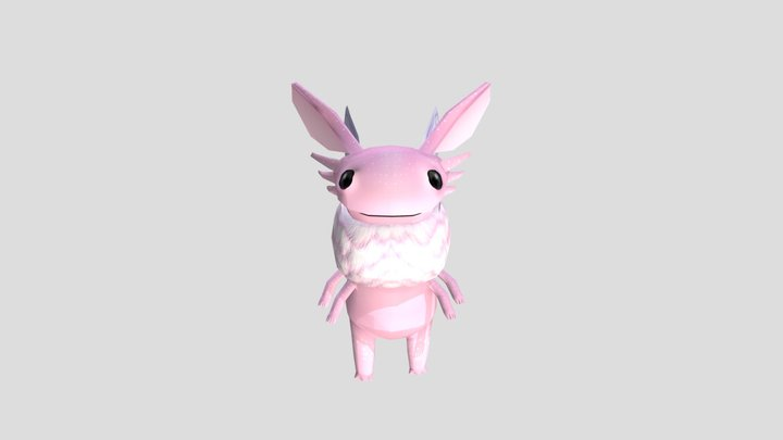 Reptisect: fuzzy wooper 3D Model