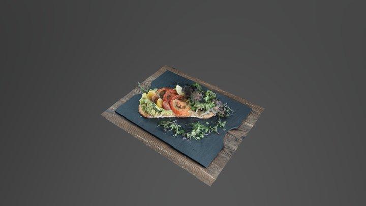 Selina Porto - Avocado Toast 3D Model