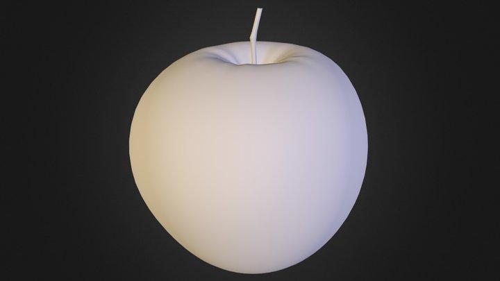 Apple.obj 3D Model