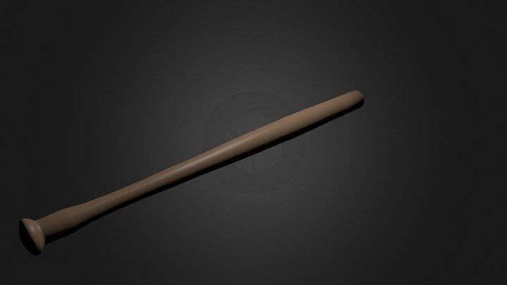 baseball bat.blend 3D Model