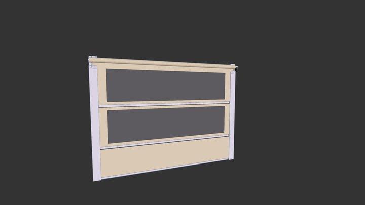 Store vertical renforce 3D Model