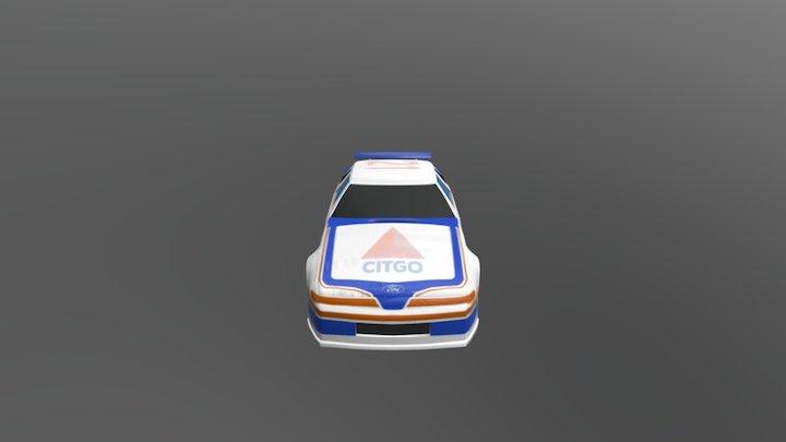 Thunderbird 3D Model