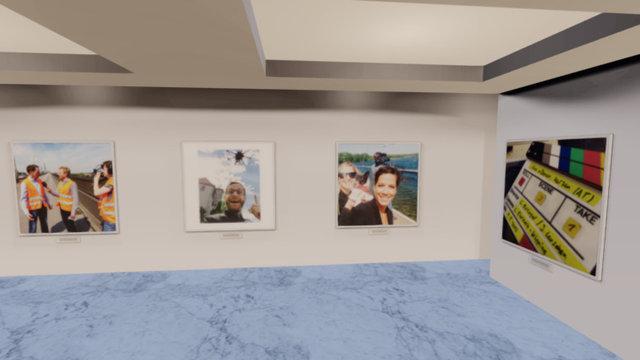 Instamuseum for @real_tv_group 3D Model