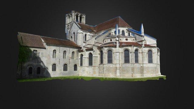 Basilique de Vézelay 3D Model