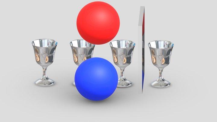 Test Scene 3D Model