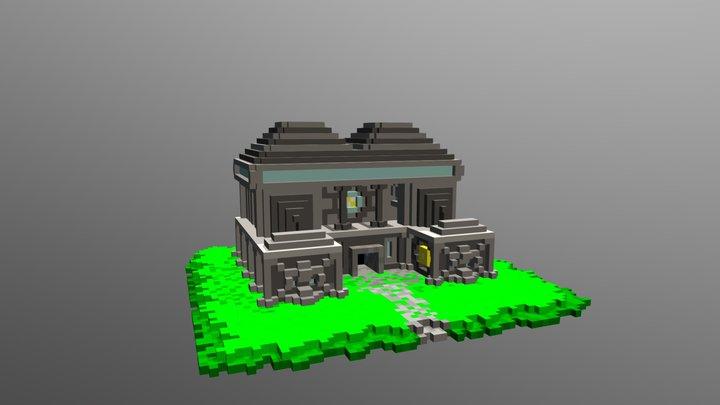 Templo 3D Model