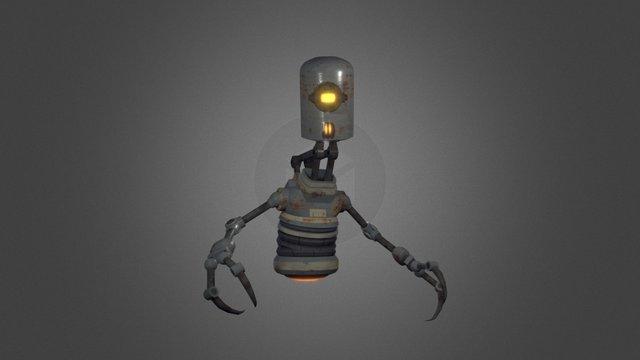 Rustworker 3D Model