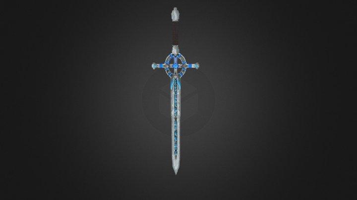 Angel Sword - Minecraft 3D Model