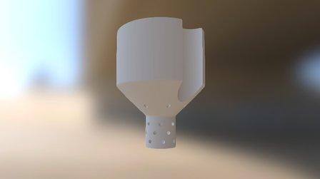 Self-Watering Planter 3D Model