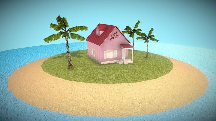KAME HOUSE (Dragon ball) 3D Model