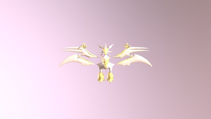 Ultra Necrozma 3D Model