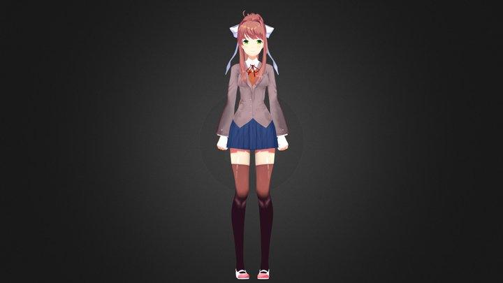 Monika - モニカ 3D Model