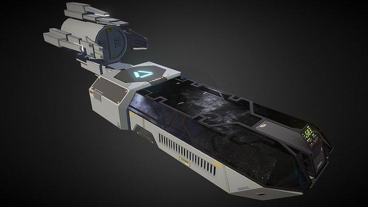 Commander's Capsule 3D Model