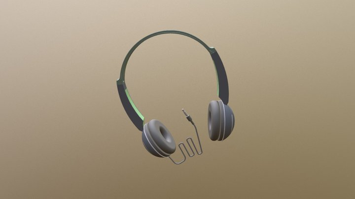 17883391- Headphones 3D Model