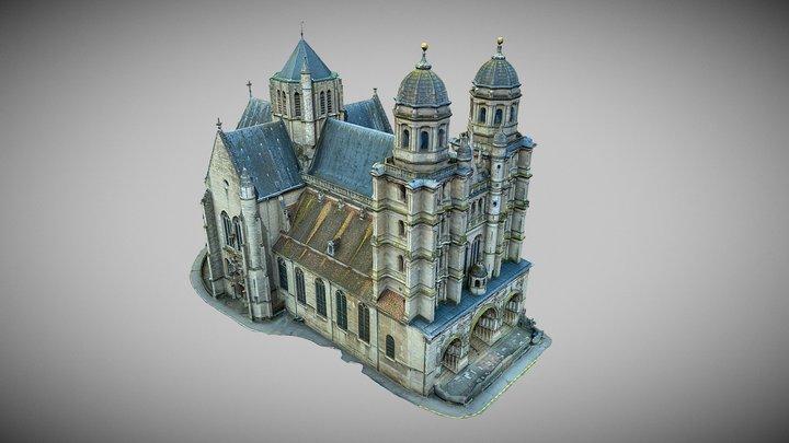 Eglise St Michel_ DIJON 3D Model