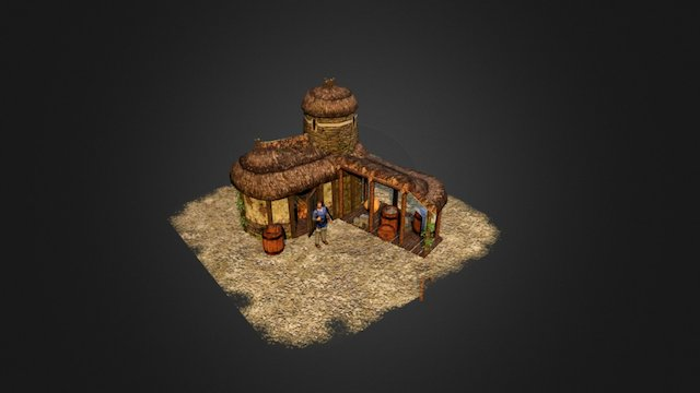 Britonnic Storehouse 3D Model