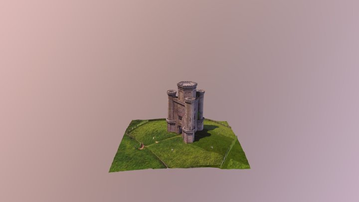 Paxtons Tower 3D Model