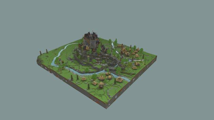 Castle Eltz 3D Model