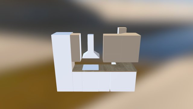 Cocina 3D Model