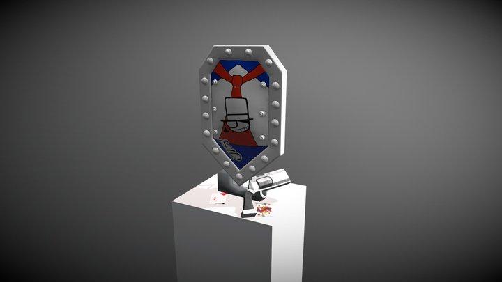 Bouclier Kaito Kid 3D Model