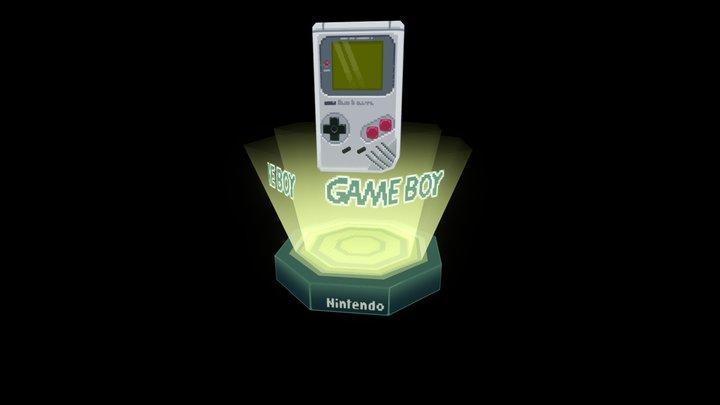 gameboy classic 3D Model