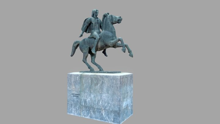 Alexander The Great 3D Model