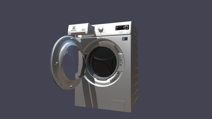 Electrolux EWW 51685 SWD 3D Model