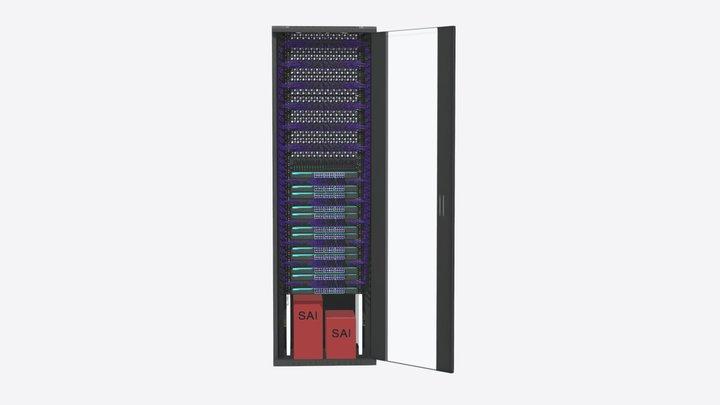 Configuración a medida Smart Rack Plus 47U - v3 3D Model