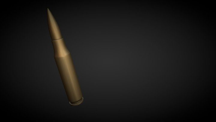A Bullet mayby a 7.62 one.....WIP 3D Model
