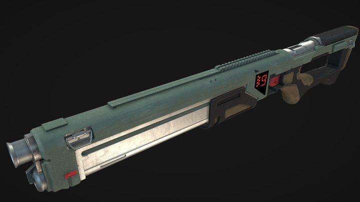 SNS-10 Shotgun 3D Model