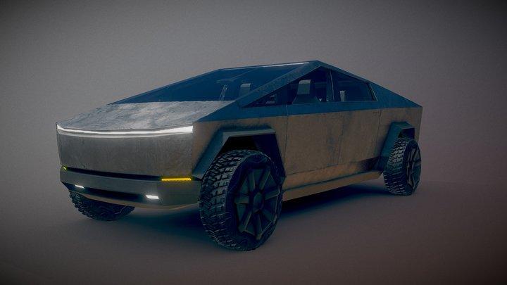Tesla CyberTruck v0.5 WIP 3D Model