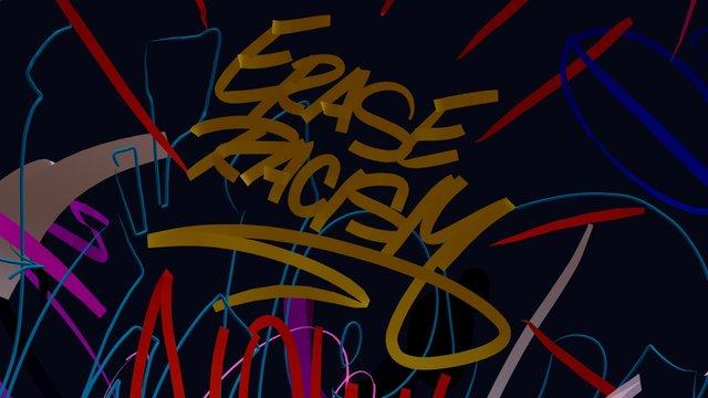 Erase Racism - Wane COD 3D Model