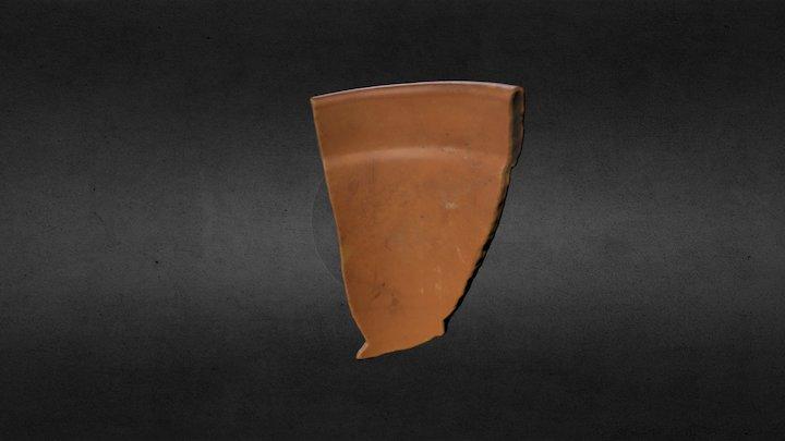 Pottery Shard, Large: Practice 3D Model