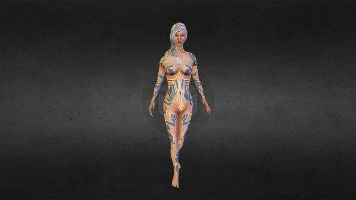 White Queen 3D Model