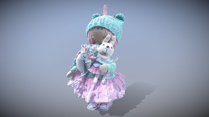 Rusian Doll 3D Model