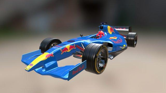 Formula 1 Red Bull 3D Model