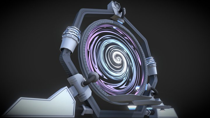 A portal to another dimension 3D Model