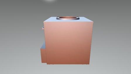 UKG-100 00 00 000 Pechka 3D Model