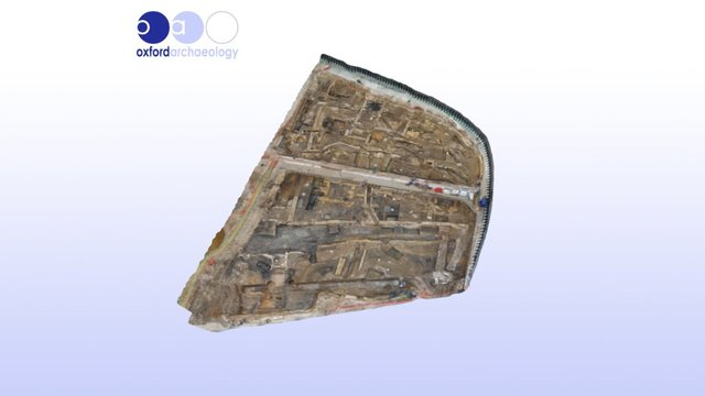 Oxford Westgate - Medieval Greyfriars Complex 3D Model