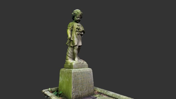 Cherub from Lyndhurst Cemetery 3D Model