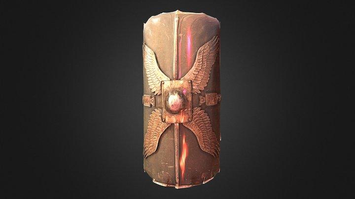 Legionary Shield 3D Model